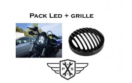 Pack Led + grille de phare Sportster