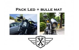 Pack Led et Bulle Sportster 883 1200