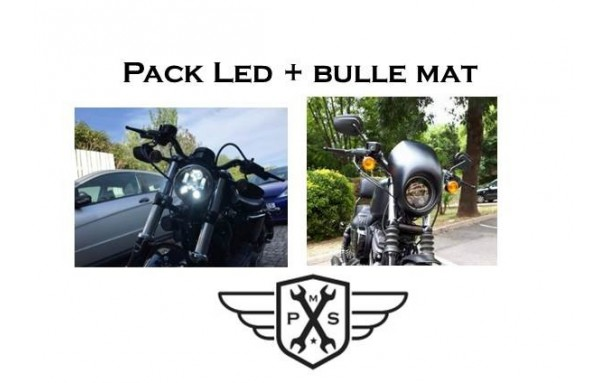 Pack Led et Bulle Sportster