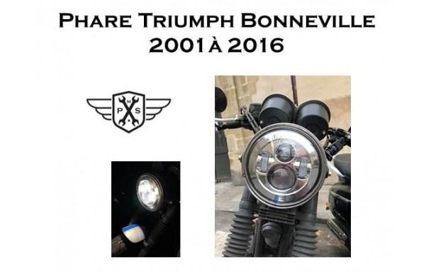 Phare à LED Triumph Bonneville 2001/2016