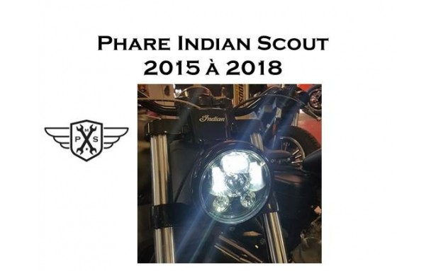 Phare à LED Indian scout