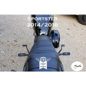 Forward controls SPORTSTER PMS 2004-2013 Noires