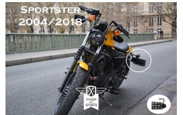 Support de plaque laterale Sportster