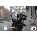 Saute vent amovible pour Sportster 2004 à 2018