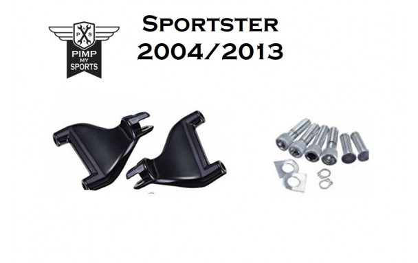 Kit repose pieds passagers Harley Davidson Sportster 2004 à 2019 HD1200