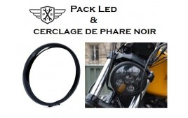 Pack led et cerclage de phare