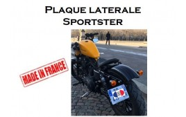 Support de plaque latetrale Sportster 04 & up