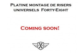 Platine adaptation risers universels pour Forty-Eight