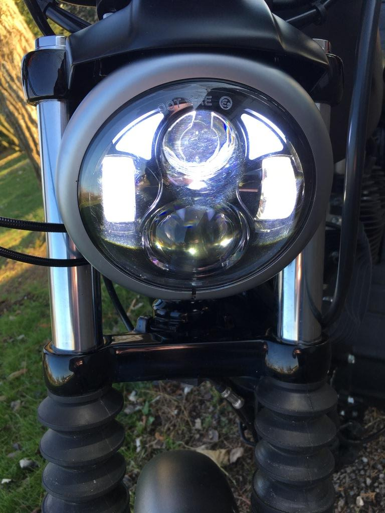 phare a LED Sportster