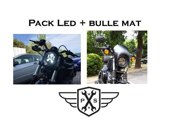 LED et bulle Sportster