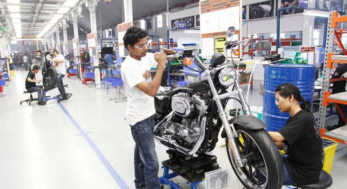 Usine Harley Davidson Inde